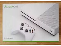 Xbox one s new sealed 1 year warranty sell or swap for new ps4