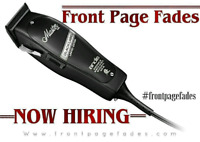 Junior barber position available