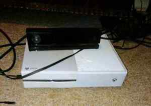 Xbox one with kinect and controller no games