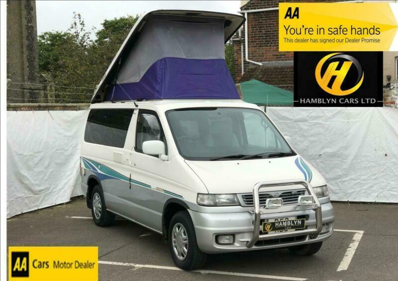 Mazda Bongo 2 5TD Auto Pop Top 4WD, 4 Berth Camper Conversion | in Great  Yarmouth, Norfolk | Gumtree