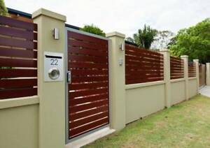 Professional bricklayer available - Front brick fence specialist