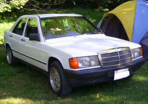 1986 MERCEDES BENZ 190 D 2.5  AUTOMATIC SEDAN