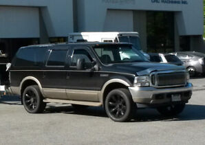 2001 Ford Excursion Limited 7.3 PSD 4x4 -The Ultimate Family SUV