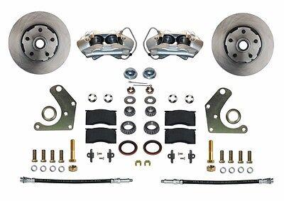 1965-72 Mopar C Body Leed Brakes Front Wheel Disc Brake Conversion Kit - Mopar Disc Brakes