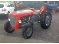 Massey Ferguson 4 cylinder diesel with international grass cutter