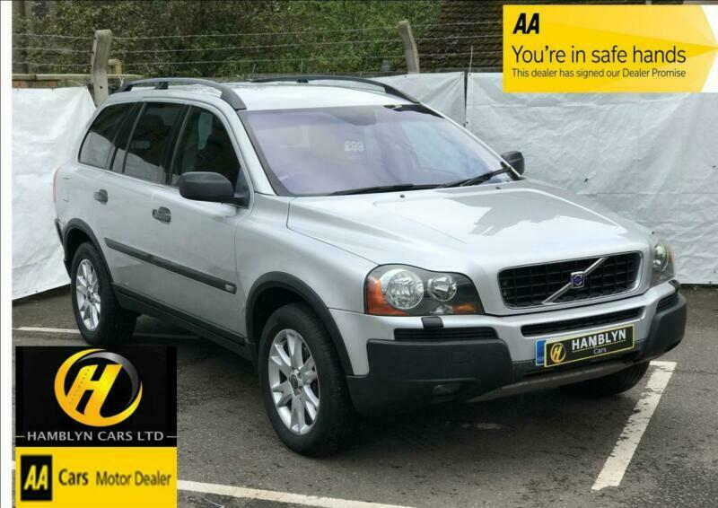 Volvo XC90 2 4TD D5 AWD Geartronic 2005 55 SE, Heated Leather, Bluetooth |  in Great Yarmouth, Norfolk | Gumtree