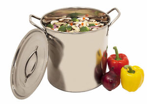 20 qt stock pot - brand new