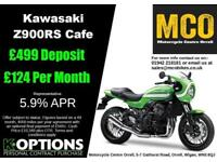 KAWASAKI Z900RS CAFE 2018 MODEL VINTAGE LIME GREEN