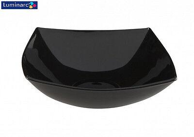Cereal Bowl 6x Luminarc Quadrato Black Multi Purpose Salad 16cm