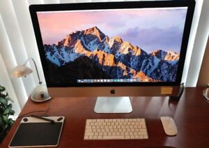 "iMac 27"" – Hardly used, still under warranty till 11/2020"