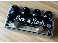 Zvex Box Of Rock Guitar Overdrive pedal
