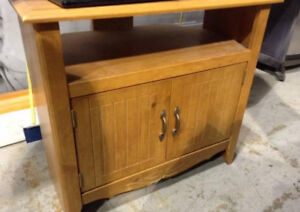 Wood TV Stand - Delivery Available