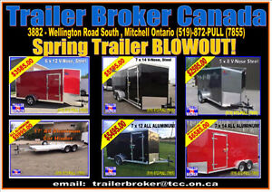 Unbeatable Prices on Cargo Trailer,Aluminum trailer,car trailer!