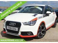 2011 AUDI A1 1.6 TDI COMPETITION LINE WHITE JUST SERVICED AT AUDI MAIN DEALER