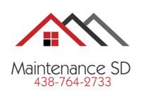 Maintenance SD (peinture .. démolition.. nettoyage de tout genre