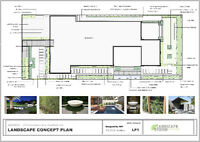 Landscape Design Drawings/ Arborist