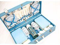 Vintage Brexton Picnic Suitcase