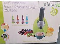 ElectriQ Frozen Fruit Dessert Maker (Boxed As New)