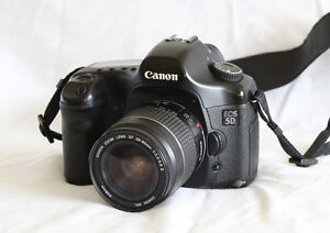 Canon EOS 5D and Lens