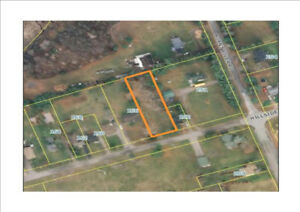 BURNT RIVER VILLAGE LEVEL BUILDING LOT, NEARLY 1/2 AN ACRE!