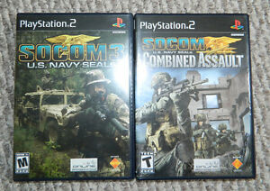 SOCCOM PS2 Games - $8.00 for both!!