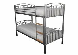 Vernon Metal Bunk Available in 3 Colours From £169