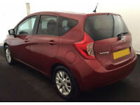 2014 NISSAN NOTE 1.2 ACENTA PREMIUM GOOD / BAD CREDIT CAR FINANCE AVAILABLE