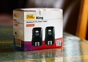 pixel king flash trigger Canon déclencheur de flash à distance