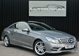 2013 Mercedes E Class E350 3.0 CDI AMG Sport Diesel Coupe *VAT Q+High Spec*