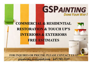 GSPainting Services...Done Your Way..!