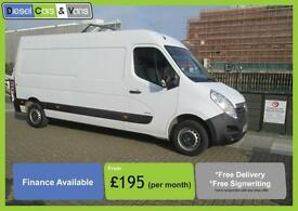 Vauxhall Movano 2.3CDTI 16v L3H2 LWB MEDIUM ROOF 3500 ** ONLY 68K ** super value