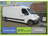Vauxhall Movano 2.3CDTI 16v L3H2 LWB MEDIUM ROOF 3500 ** ONLY 58K ** super value