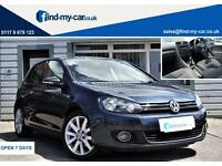 2010 10 Volkswagen Golf 2.0 TDI GT 140 5dr Metallic Blue