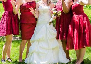 Magnifique robe de mariée 2-6ans