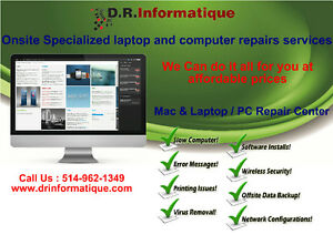 Desktop/Laptop Repair at your location by Certified Professional