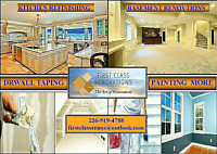 *FINISH BASEMENT*KITCHEN CABINET PAINTING*RENOVATIONS*PAINTING**