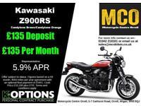 KAWASAKI Z900RS 2018 MODEL CANDYTONE BROWN/CANDYTONE ORANGE