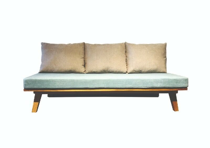 BOO FURNITURE SOLID TEAK WOOD   SOFA