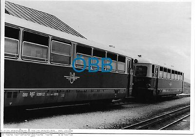 3 Fotos Eisenbahn ÖBB Bergbahn, Panoramabahn, Zug, Personenzug, Österreich