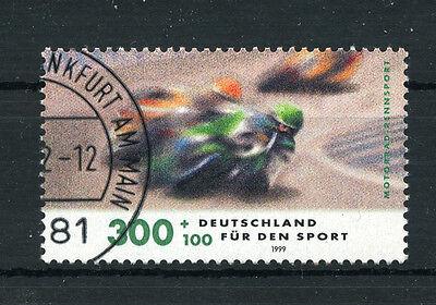 Bund 2034 gestempelt - Motorradrennen
