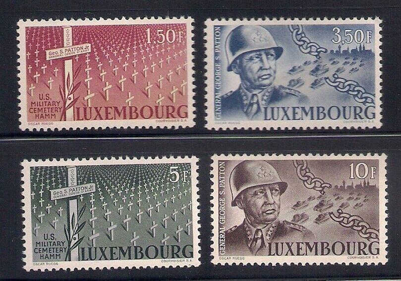 Luxembourg 1947 Sc 242-45 MNH OG 42775  - $3.95