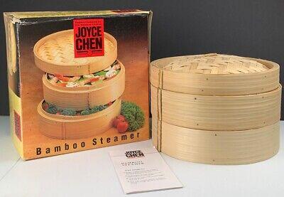 Joyce Chen Bamboo Steamer Woven Lid 26-0013 Rough Box