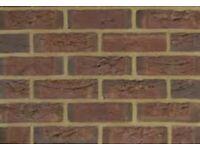 New facing bricks caprice baccara (600 to a pack)