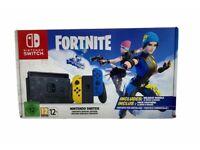 Nintendo switch Fortnite edition.