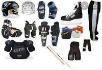 Ringette/hockey gear