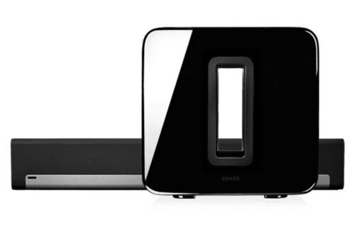 Sonos 3.1 PLAYBAR Home Theater - Wireless SUB In Gloss Black