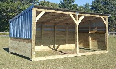 Portable Horse Barn - Livestock Shelter - Goat Shed - Sheep Shed - Horse Run-in