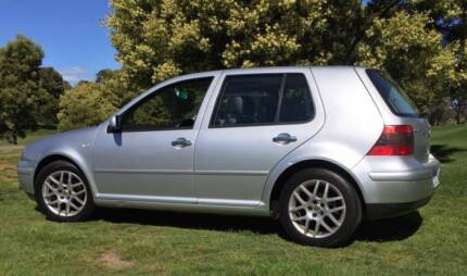 VW Golf Turbo Hatchback 1.8 5 Speed  2001 Mk4 Tidy With Leather