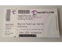 Rewind Festival North - 1 day ticket, face value