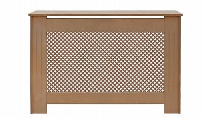 Modern Radiator Cover Radiator Cabinet Medium Ready to Paint MDF